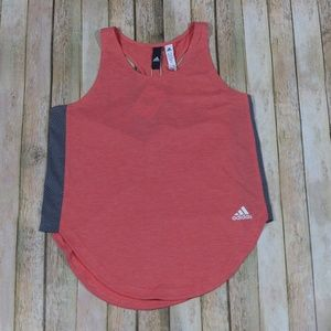 New Adidas ShortSide Tank Top Gym Mesh